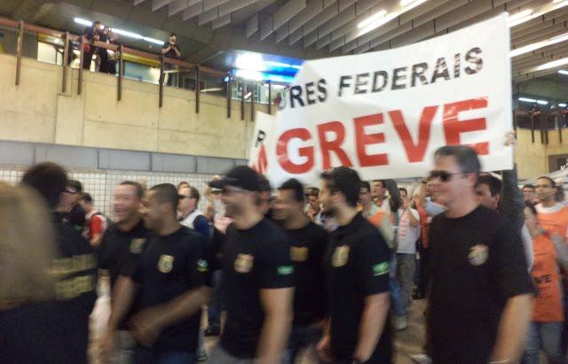 GRU greve Sao Paulo strike grev