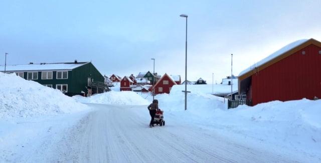 Grönland kentler