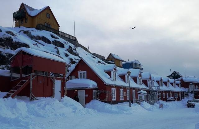 Grönland şehirleri
