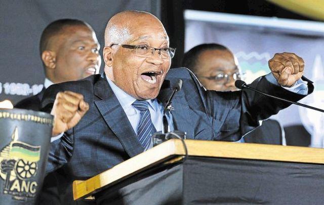 güney afrika başkanı zuma