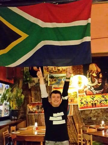 Güney Afrika bayrak