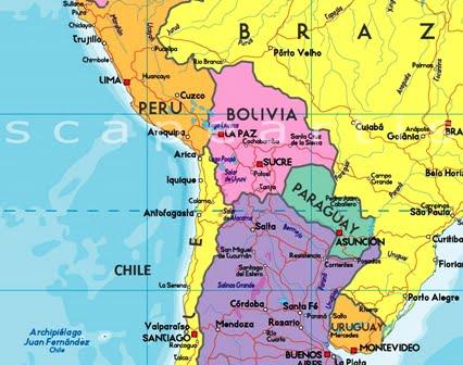 latin amerika haritası