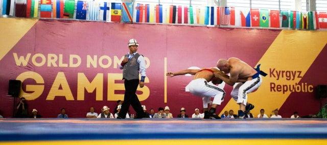 Orta Asya güreş