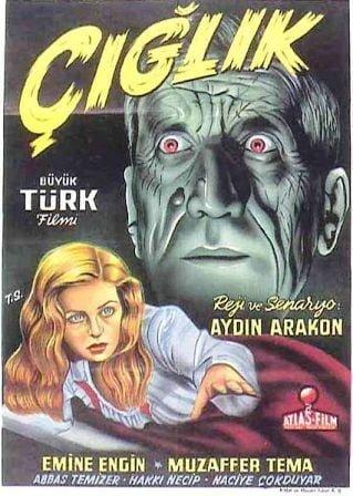 ilk türk korku filmi çığlık