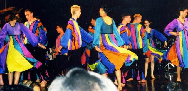 İsrail geleneksel dansları