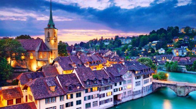 İsviçre şehirler