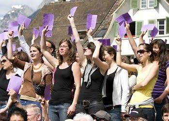 İsviçre kadınları