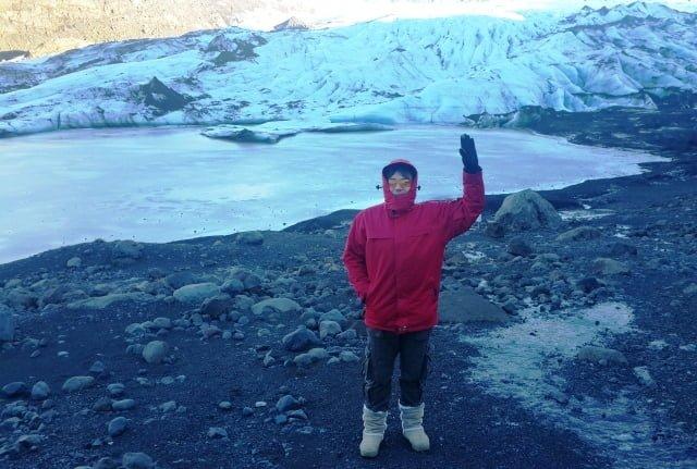 İzlanda buzul yürüyüşü