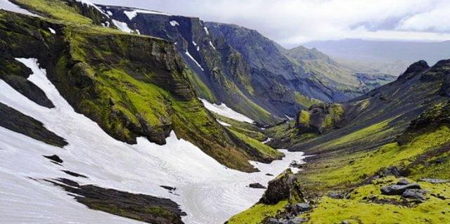 İzlanda trekking rotası