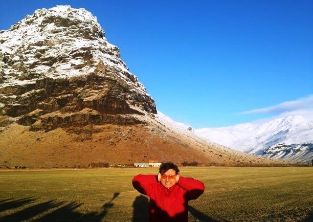 İzlanda patlayan yanardağ