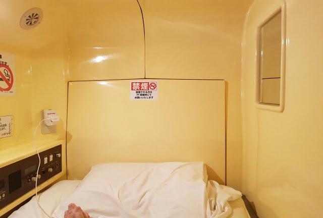 Japonya kapsül otel