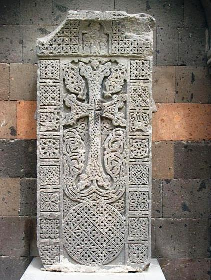 Armenian cross Khachkar