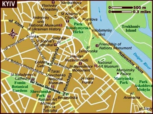 Kyiv harita