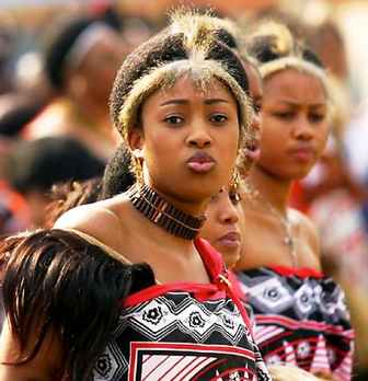 Swaziland King's wife