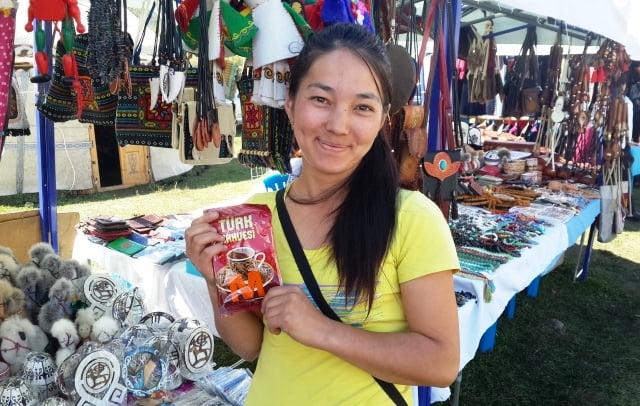 Kırgız kızı
