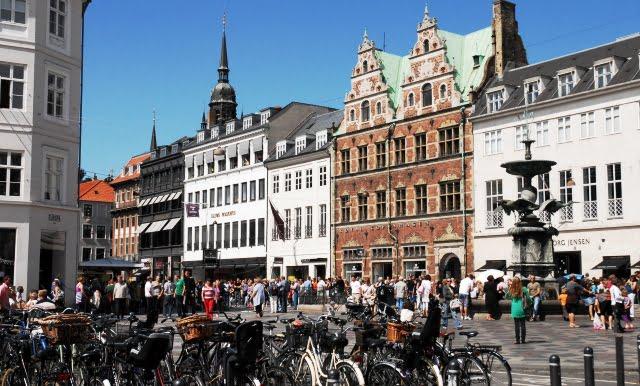Kopenhag'da alışveriş