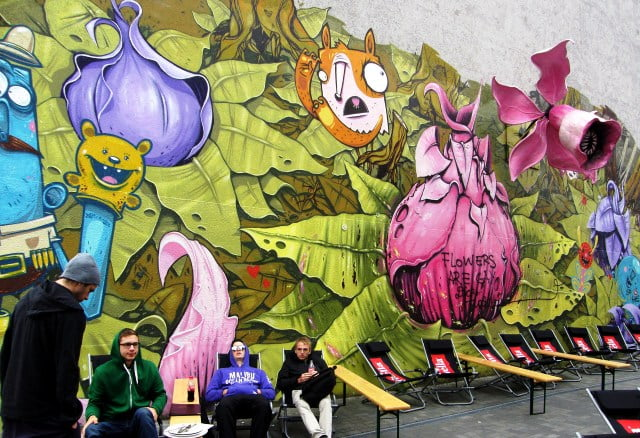 Kreuzberg duvar resimleri