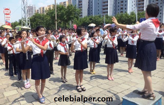 kuzey kore'de bayram