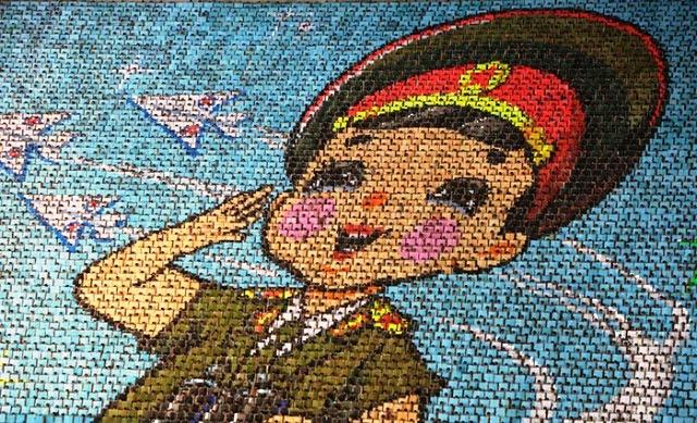 Kuzey Kore çocukları