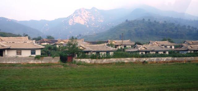 kuzey kore köy