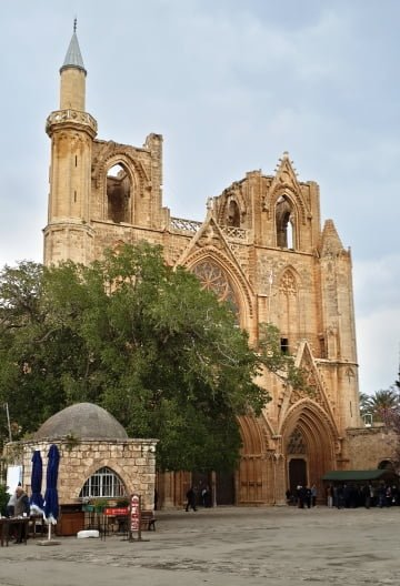 Lala Mustafa Paşa Camii Gazimağusa
