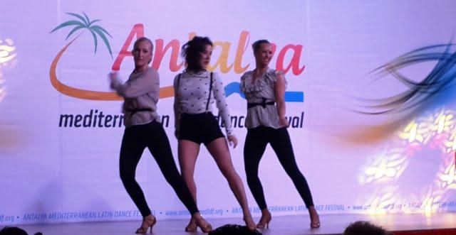 Latin dansları figürleri