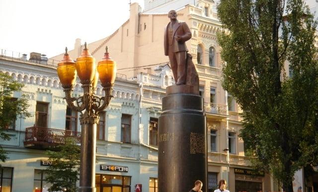 Lenin heykel