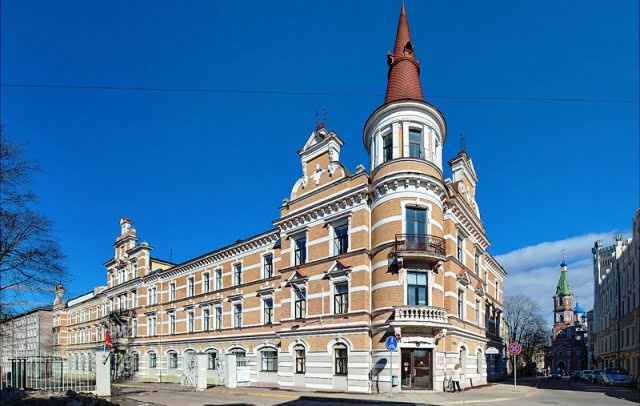 letonya üniversite