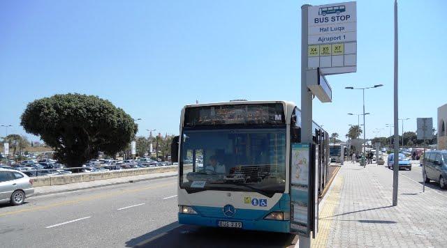 Malta havalimanı ulaşım otobüs