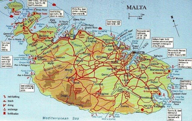 Malta ulaşım yol haritası