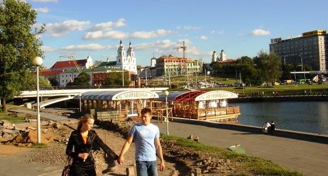 Minsk'te hayat