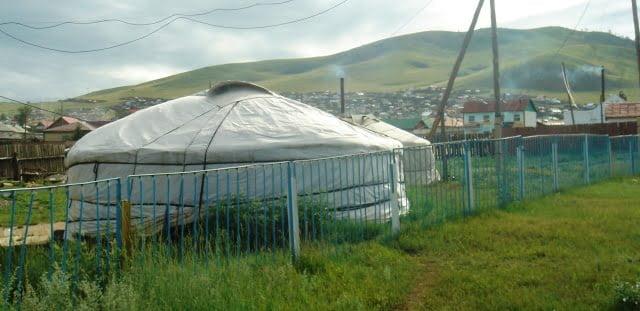 Moğol çadır