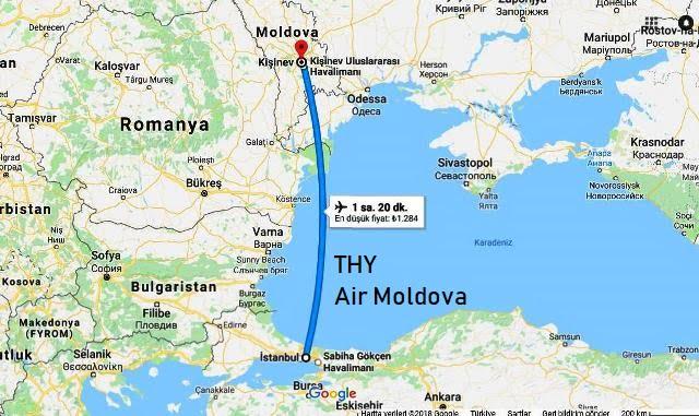 Moldova nasıl gidilir?