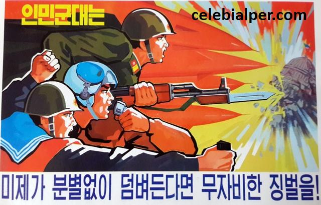 kuzey kore propaganda
