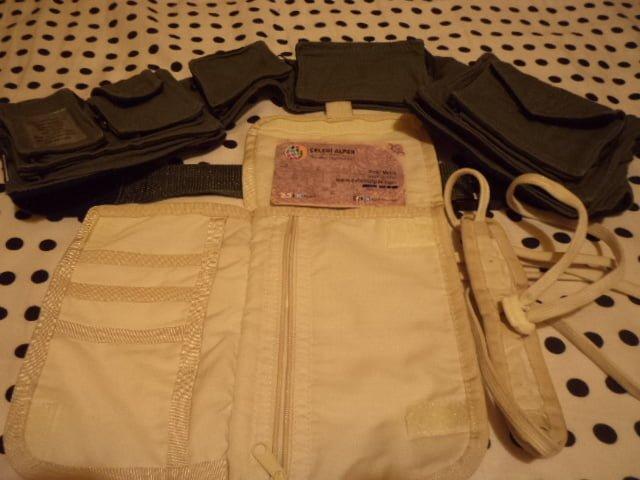 Bel çantası pasaport çantası