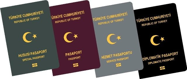 Turkish passports pasaportlar türk
