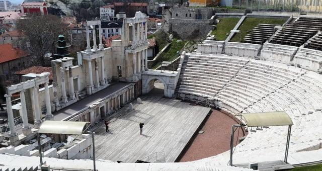 Plovdiv antik tiyatrosu
