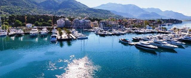kart over montenegro