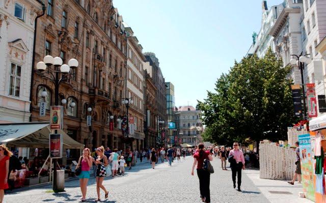 prag alışveriş caddesi