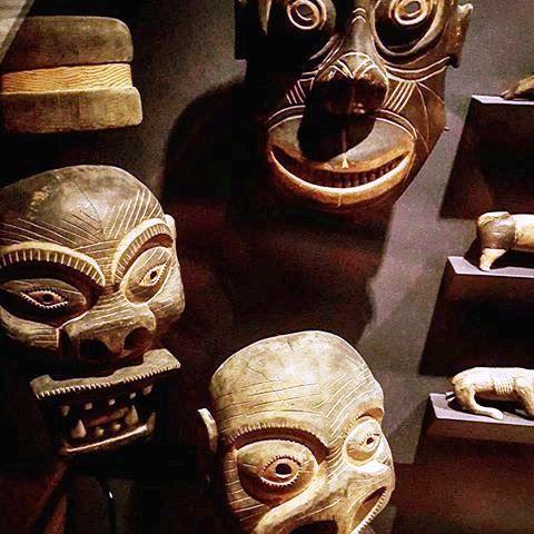 Şaman maskları