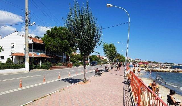 Bisiklet yolu Şarköy