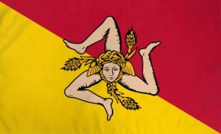 Sicilya bayrak