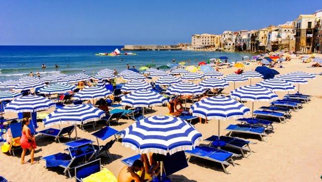 Sicilya deniz tatili