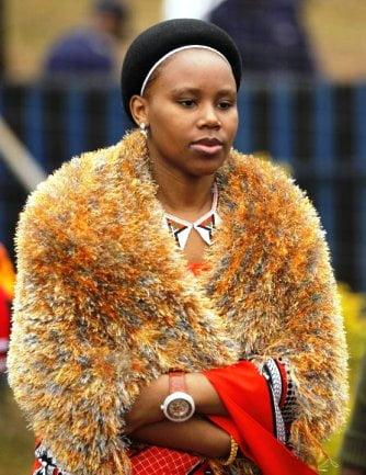 Swaziland kralının eşleri