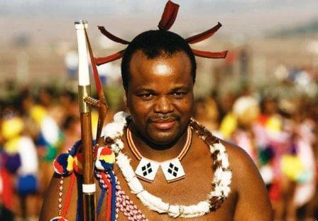 Swaziland kralı