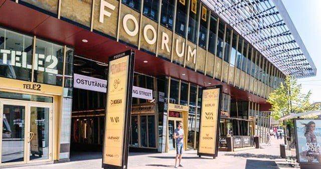 Tallin alışveriş merkezi