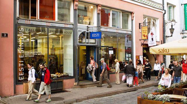 Tallinn Alışveriş Yerleri
