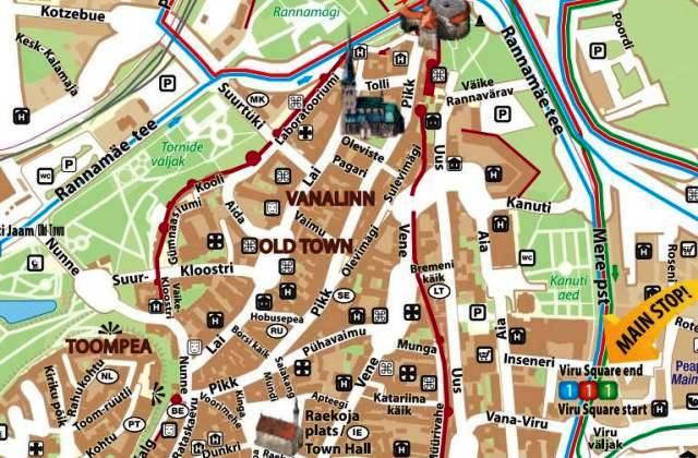 Tallinn haritas