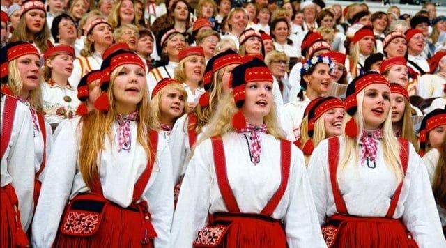 Tallinn Yaşam İnsanlar