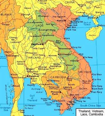 tayland harita